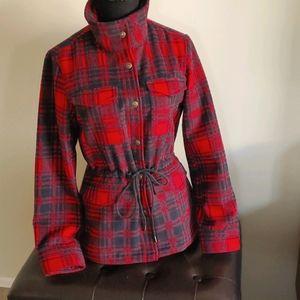 Classic plaid Levi's jacket XS